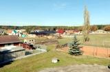 panoramatická fotografie obce